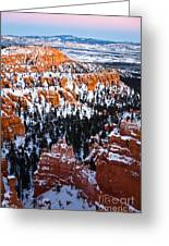 Sunset Over A Hoodoo Nation IIi Greeting Card
