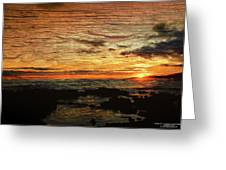 Sunset Over Hawaii Greeting Card