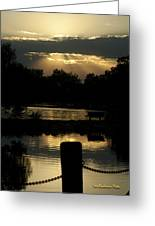 Sunset Over Henderson Greeting Card