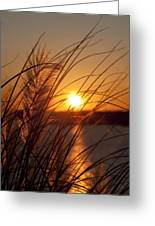 Sunset Over Lake Wylie Sc Greeting Card