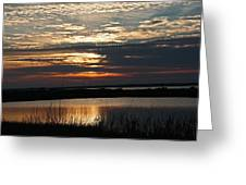 Sunset Over Navarre Greeting Card