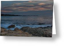 Sunset Over Point Joe Greeting Card