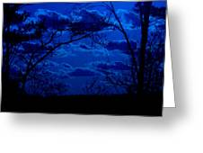 sunset over Suwanee 2009 Greeting Card