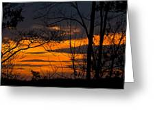 sunset over Suwanee 2010 Greeting Card