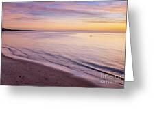 Sunset Paddle Greeting Card