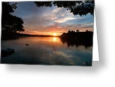 Sunset Panther Lake Greeting Card