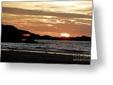 Sunset Part 3 Greeting Card