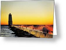 Sunset Photography  Greeting Card