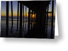 Sunset Pismo Beach Greeting Card