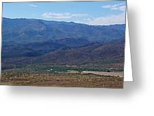 Sunset Point View Greeting Card