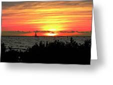 Sunset Punta Gorda Fl Greeting Card