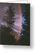Sunset Rainbow Greeting Card