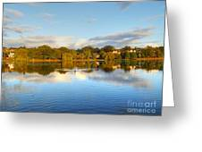 Sunset Reflections On The Lake Greeting Card