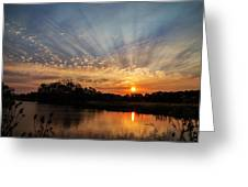 Sunset Refuge Greeting Card