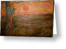 Sunset Rev. Greeting Card