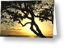 Sunset Revival Greeting Card