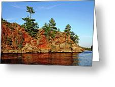 Sunset Rock Greeting Card