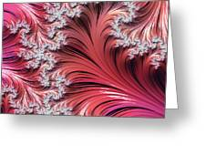 Sunset Romance Abstract Greeting Card