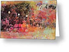 Sunset Saunter Greeting Card