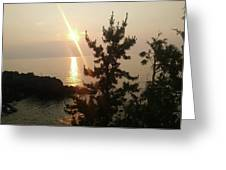Sunset Scenic Greeting Card