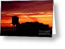 Sunset Se Greeting Card
