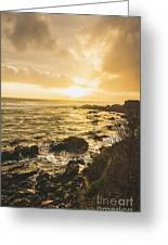 Sunset Seascape Greeting Card