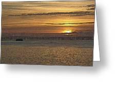 Sunset Serenade Greeting Card