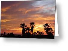 Sunset Sky Over Baja Greeting Card
