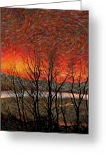Sunset Soliloquy Greeting Card