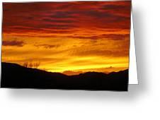 Sunset Solitude Greeting Card