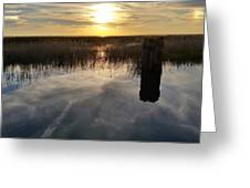 Sunset St Clair  Greeting Card