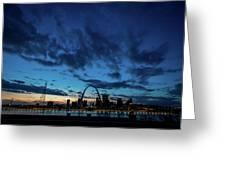Sunset St. Louis IIi Greeting Card