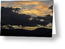 Sunset Study 5 Greeting Card