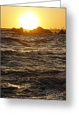 Sunset Summer 2009 Greeting Card