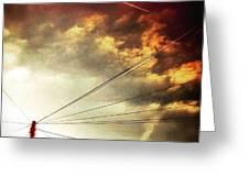 #sunset #sun #tagsforlikes.com #tflers Greeting Card