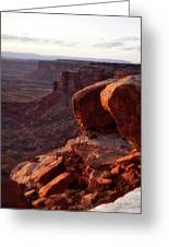 Sunset Tour Valley Of The Gods Utah Vertical 01 Greeting Card