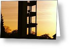Sunset Tower Greeting Card