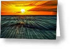 Sunset Trails Greeting Card