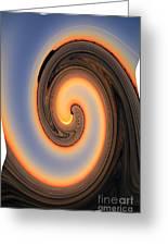 Sunset Twist Greeting Card
