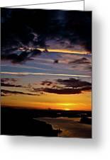 Sunset Vista Greeting Card