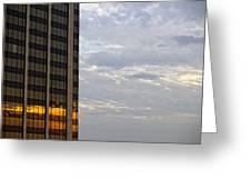 Sunset White Plains Ny Greeting Card