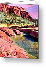 Sunset Zion National Park Greeting Card