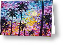 Sunsets In Florida Greeting Card