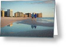 Sunsets On Marco Island Greeting Card
