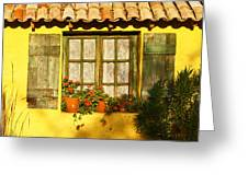 Sunshine And Shutters Greeting Card