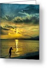 sunshine at Puerto Cabello Greeting Card