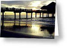 Sunshine At The Pier 60 Greeting Card