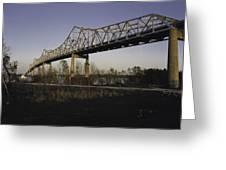 Sunshine Bridge Greeting Card