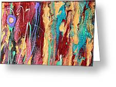 Sunshine Coast Colorful Abstract  Greeting Card