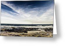 Sunshine Coast Landscape Greeting Card